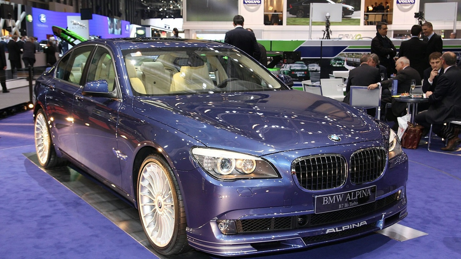 Alpina B7 Biturbo Details Released at Geneva Motor Show