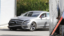 2012 Mercedes CLS crashes on the Nürburgring
