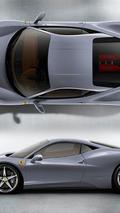 Ferrari 458 Italia - Grigio Titanio
