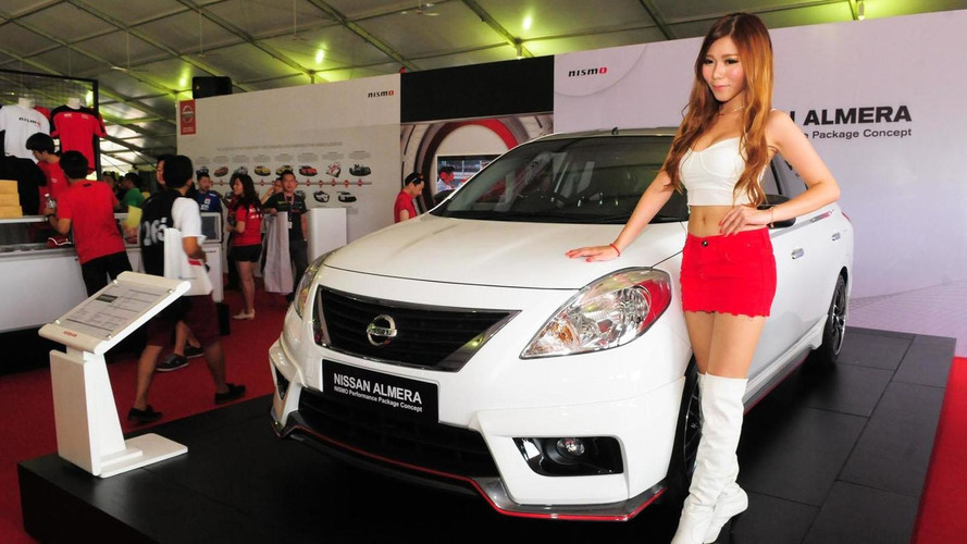 Nissan Almera Nismo Performance Concept unveiled in Malaysia