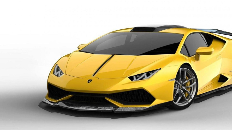 DMC shows a potential styling package for the Lamborghini Huracan