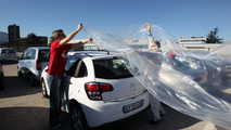 Foreign cars being wrapped by Fiat