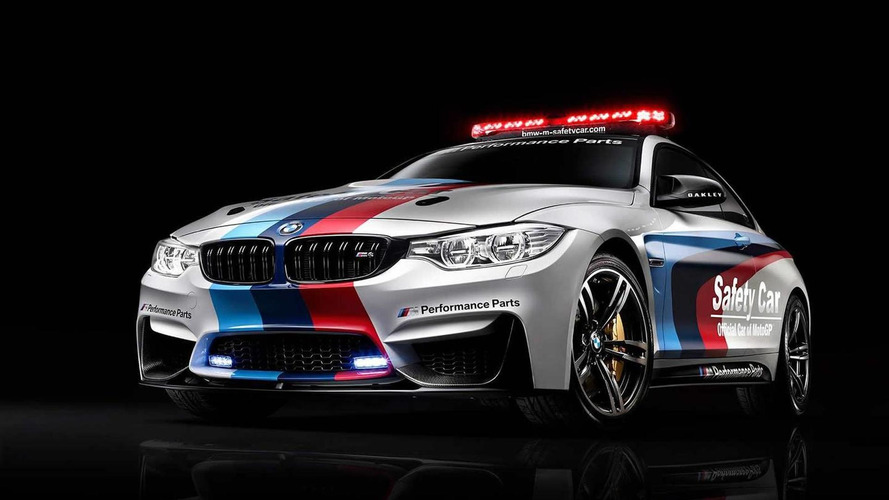 BMW shows off M4 Coupe MotoGP safety car