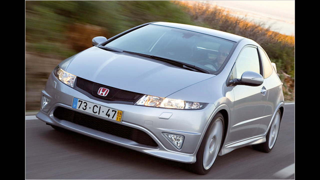 Platz 16: Honda Civic Type R