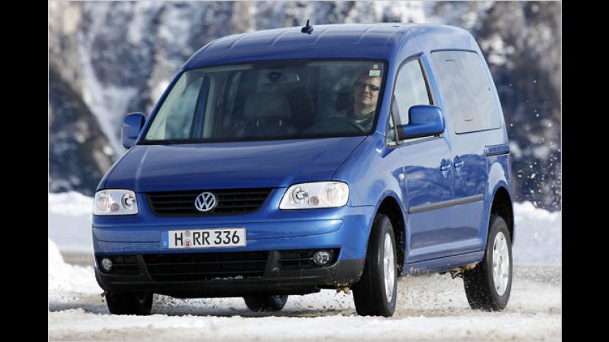 A new car is born: Der VW Caddy Life 1.9 TDI 4Motion im Test