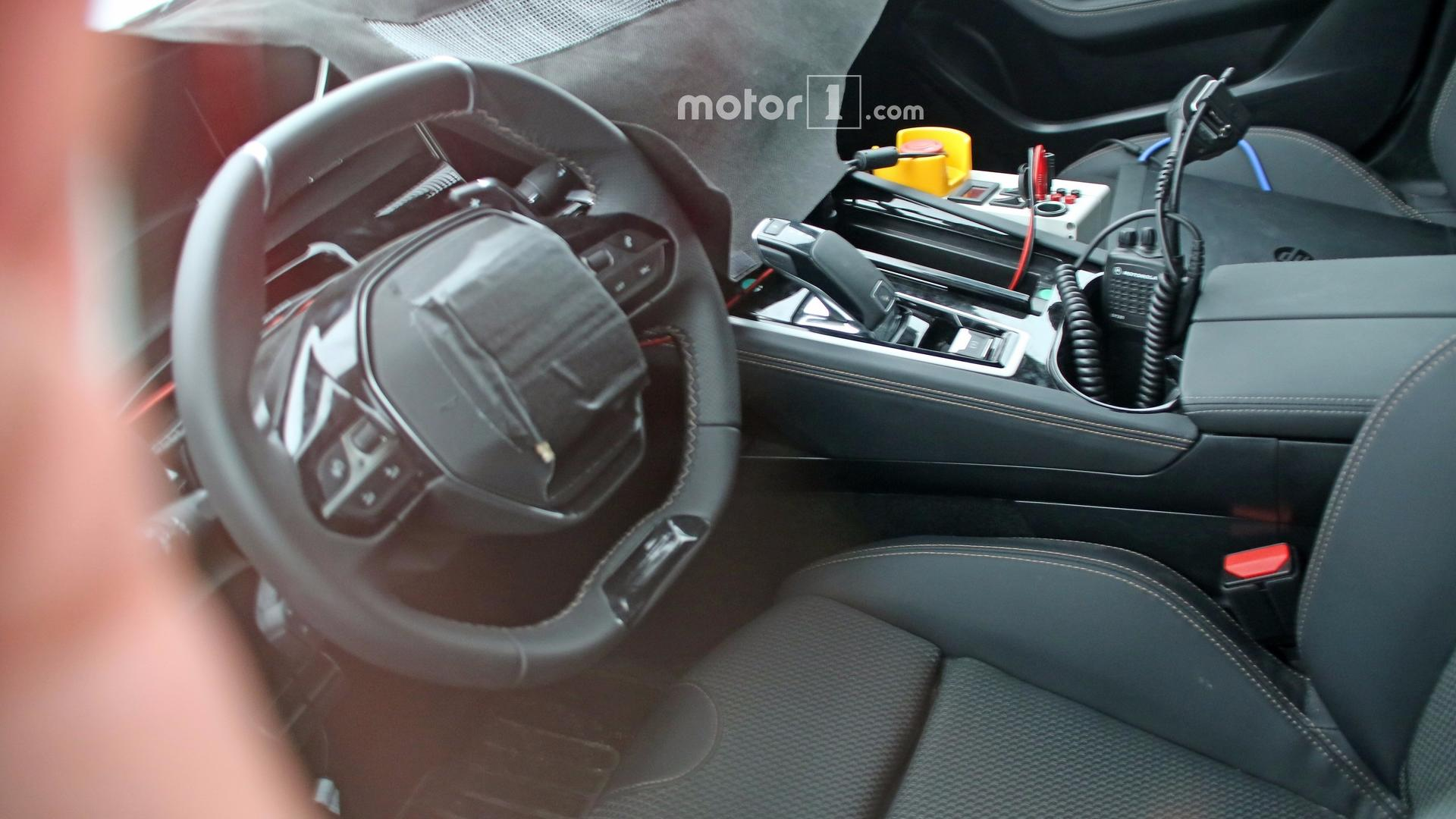 2018 peugeot 508 spied inside for the first time for Interieur 306
