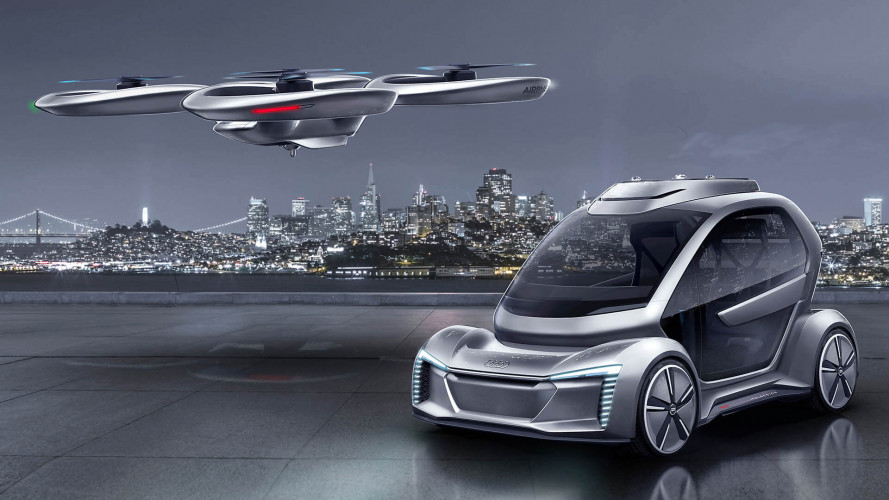 Audi, Italdesign und Airbus zeigen Pop.Up Next