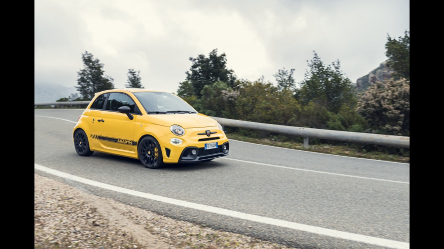 Abarth 595 Pista, adrenalina racing