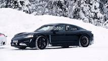 Porsche Mission E And 911 Spied Testing Together