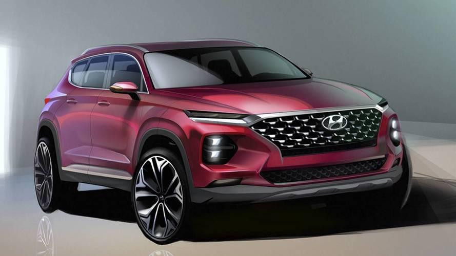 Nouvelles images du Hyundai Santa Fe !