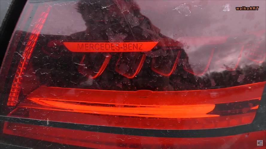 2018 Mercedes A-Class screenshots from spy video