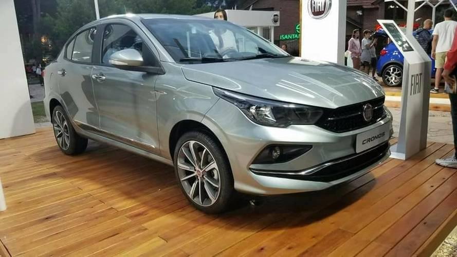 Fiat Cronos vai custar cerca de R$ 4 mil a mais que o Argo