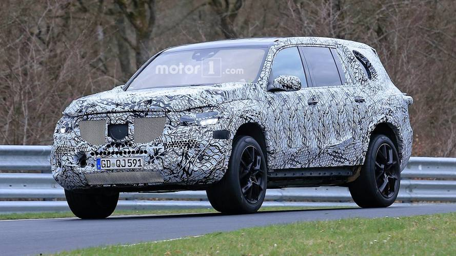 New Mercedes GLS Can't Hide Its Imposing Body Under Camo