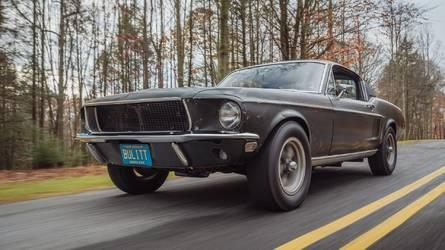 La Ford Mustang de Bullitt retrouvée !
