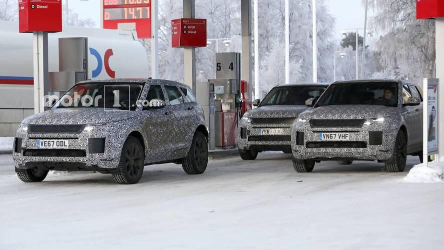 VIDÉO - Le futur Range Rover Evoque est en préparation