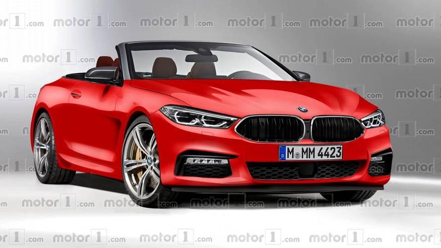 BMW Série 8 Cabriolet illustration