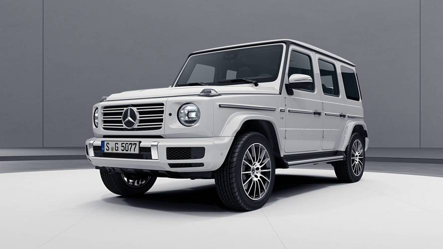2019 mercedes g class amg line shows its sporty side. Black Bedroom Furniture Sets. Home Design Ideas