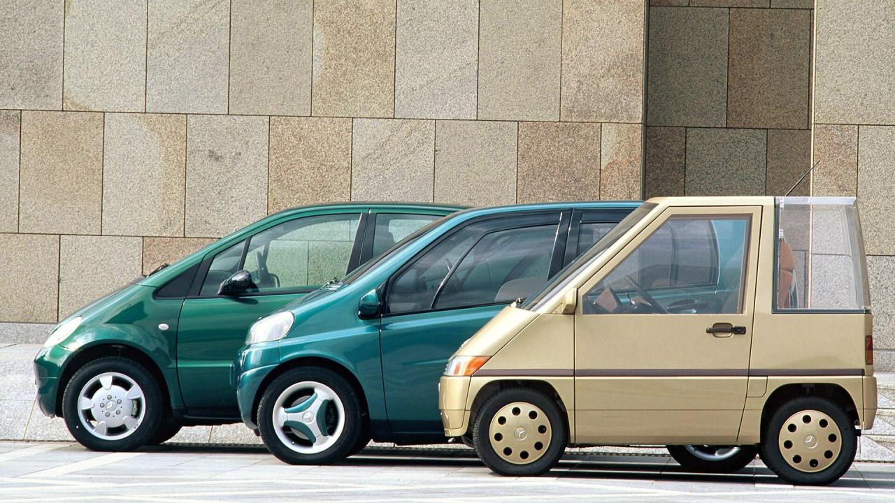 Mercedes A-Klasse: Evolution einer Idee