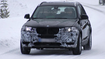2013 BMW X3 facelift spy photo 25.02.2013 / Automedia