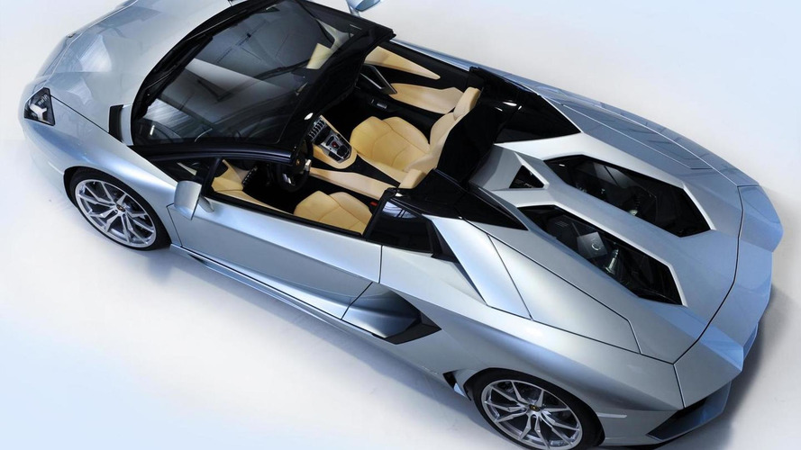 2013 Lamborghini Aventador Roadster starts from 441,600 USD