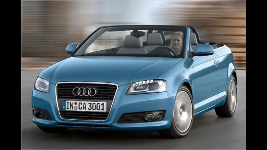 Kraftzwerg: Neuer Einstiegsmotor für das Audi A3 Cabriolet