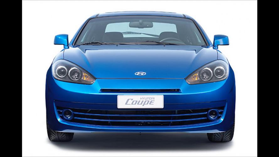 Hyundai Coupé: Hübsch gemacht fürs neue Modelljahr