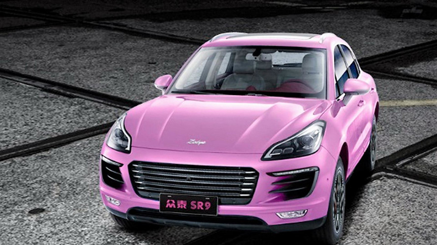 Insolite - Une copie du Porsche Macan Hybride en Chine !