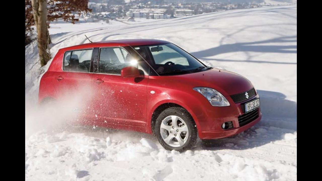 Suzuki Swift 4x4 Snow