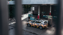 BMW X2 teased with urban camouflage