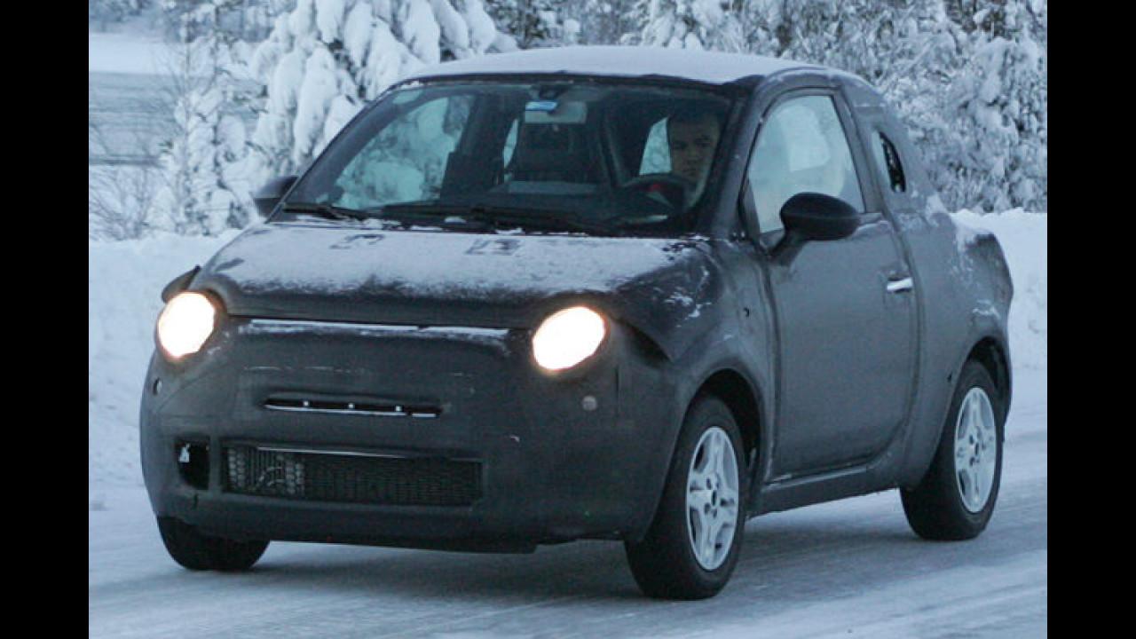 Erlkönig: Starker Fiat 500