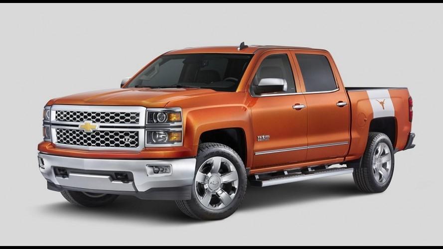 Chevrolet Silverado ganha edição especial University of Texas