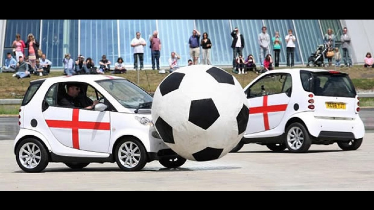 Smart lança Campeonato de Futebol entre carros