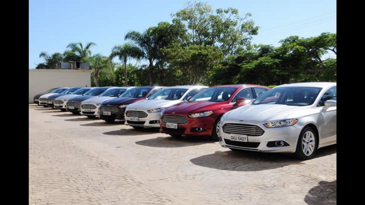 Ford inicia vendas do Fusion 2015 com cinto inflável e bancos refrigerados