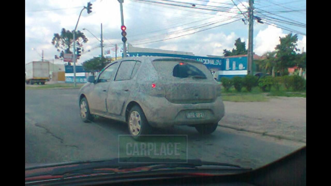 Exclusivo: primeiro flagra do novo Renault Sandero (e Stepway) no Brasil