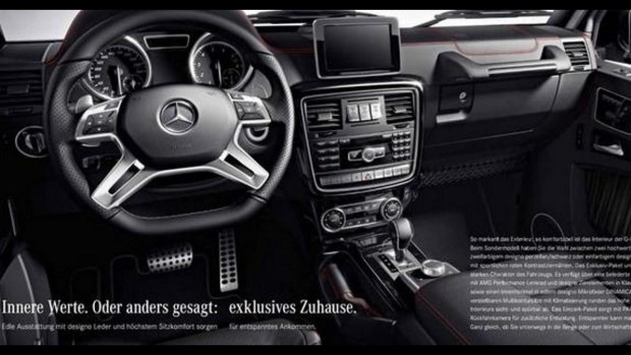 Mercedes-Benz lança edição de aniversário do Classe G