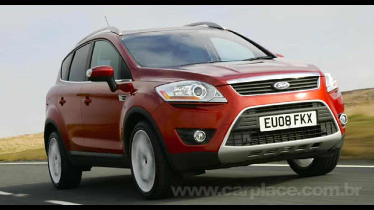 Ford vai mostrar nova geração do utilitário Kuga no Salão de Detroit