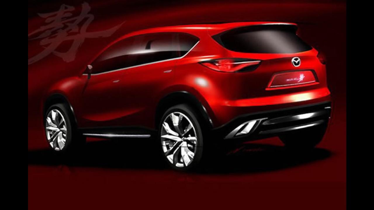 Mazda Minagi Concept vaza antes da estreia em Genebra