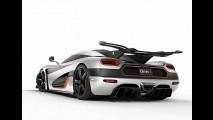 Koenigsegg One:1 de 1.341 cavalos vai de 0 a 400 km/h em menos de 20 segundos