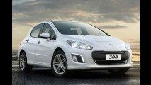 Próxima geração do Peugeot 308 já roda em testes na Europa