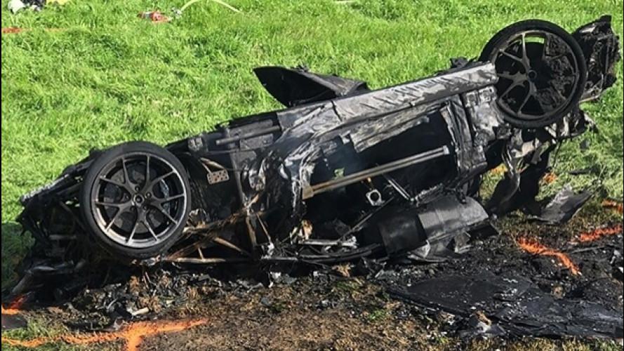 Richard Hammond, il video dell'incidente