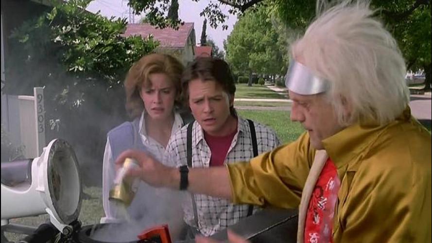 Ritorno al Futuro, la DeLorean ad Ecomondo per parlare di biometano