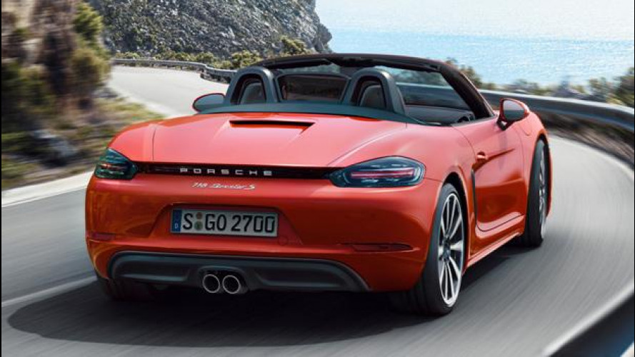 Porsche 718 Boxster, senti come suona [VIDEO]
