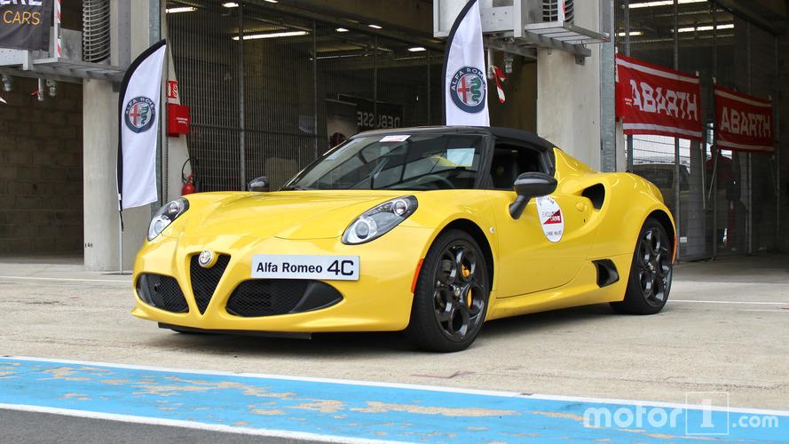 Essai Alfa Romeo 4C Spider - Plaisir automobile à l'état brut