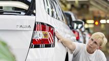 Skoda Fabia milestone production