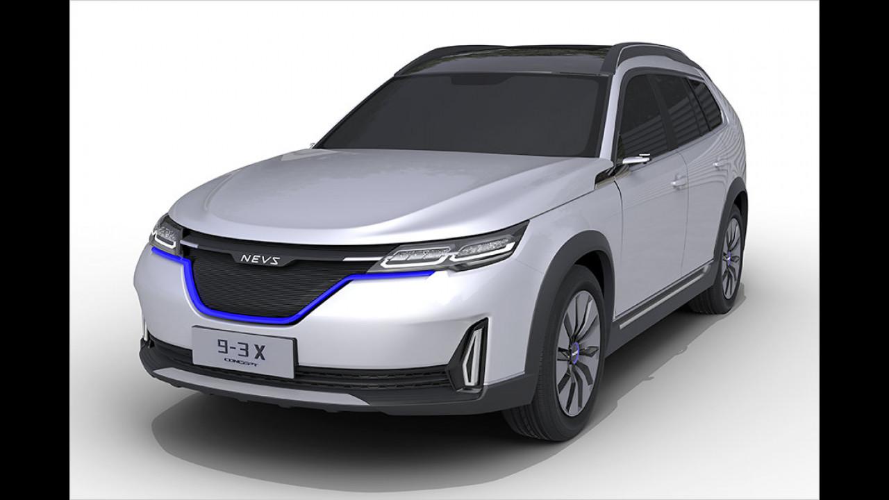 Elektro-Saab für China