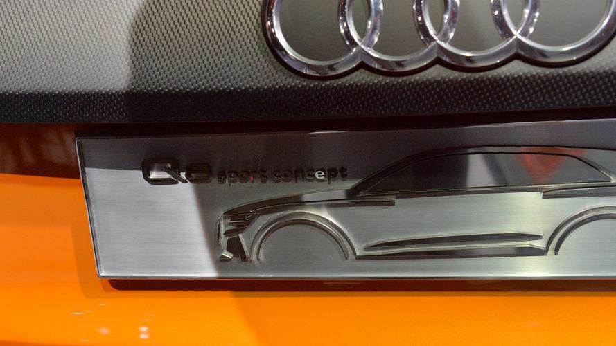 Audi Q8 Sport Concept live photos Geneva