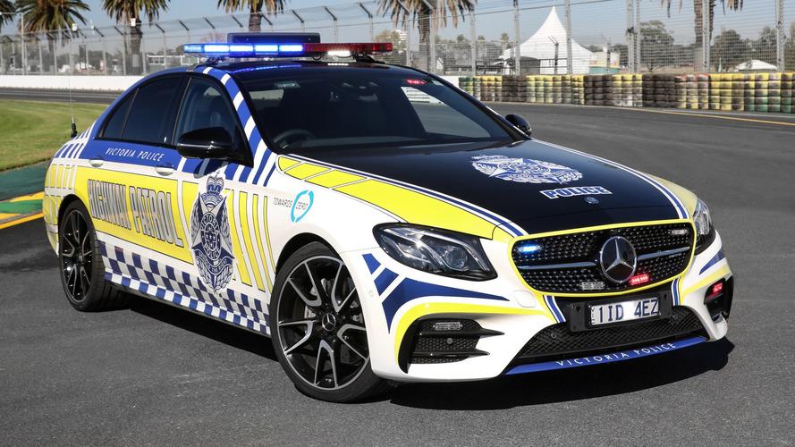 Mercedes-AMG E43 polis aracı suçlulara göz açtırmayacak