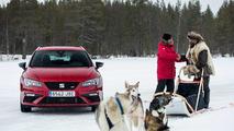 SEAT León CUPRA en Laponia