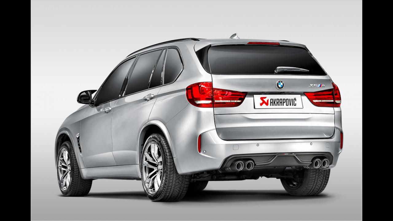 Mehr Power und Sound für BMW-SUVs