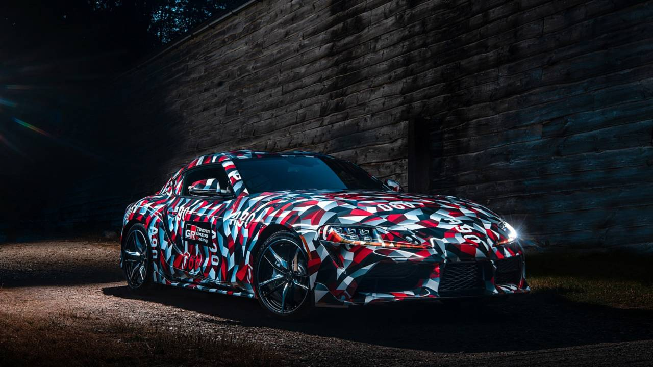 Supra Spy Shots >> Toyota Supra A90 at Goodwood | Motor1.com Photos